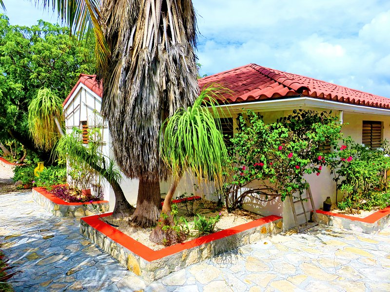 Villa on two waterfronts between ocean and lake - Image 1 - Providenciales - rentals