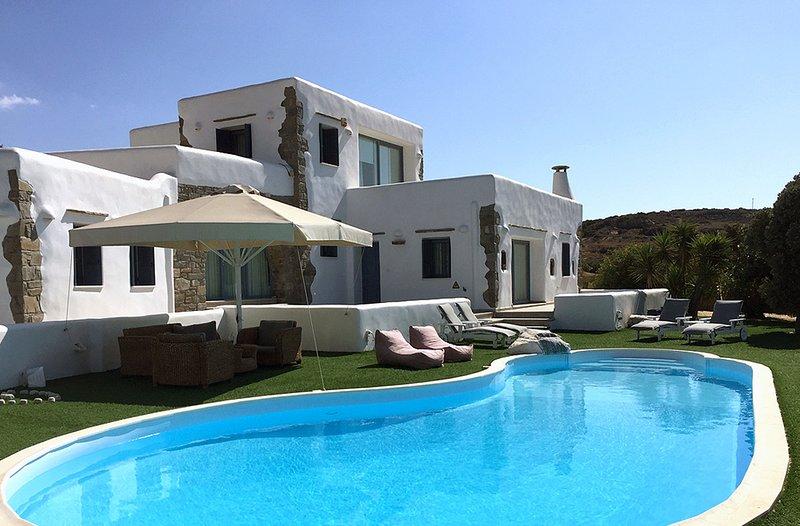 Villa Gusto with private pool-unique seaview - Image 1 - Parikia - rentals