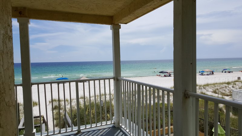 View from end of porch - Beachside Condo rental Panama City Beach - Panama City - rentals