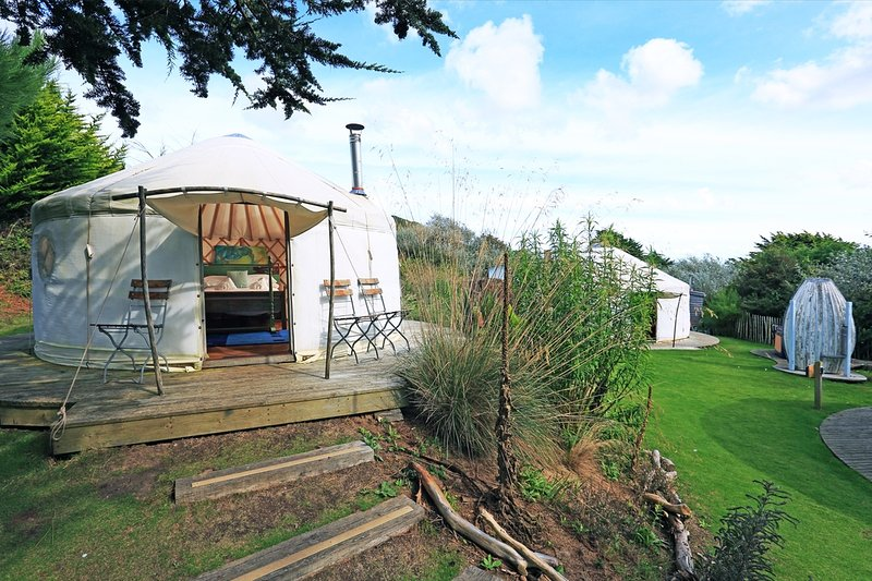 Brae, Yurt, The Park  located in Newquay, Cornwall - Image 1 - Newquay - rentals