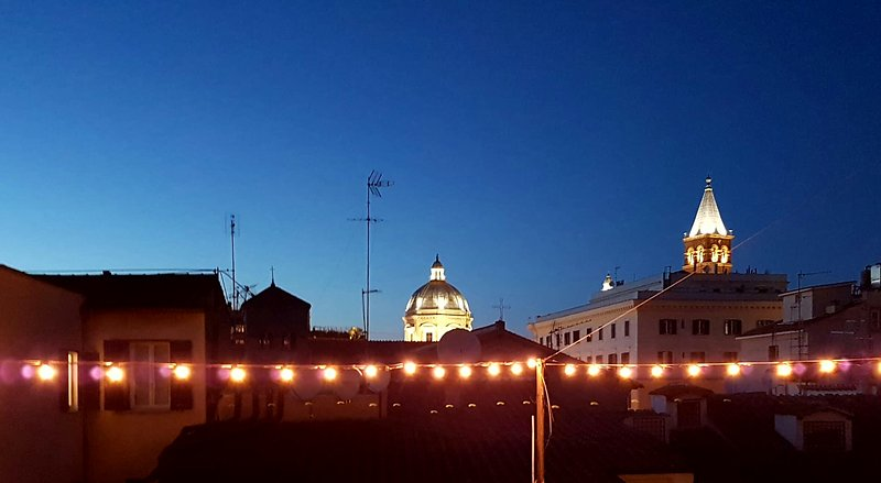 Stunning rooftop terrace in the True Heart of Rome - Image 1 - Rome - rentals