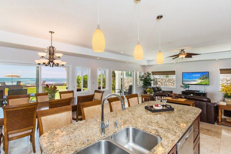 Aloha Oceanfront Estate in Ewa Beach - Aloha Oceanfront Estate in Ewa Beach - Ewa Beach - rentals