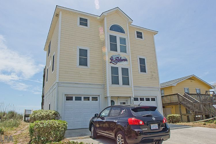 Exterior - 330 Seashore Dr - La Paloma - Fabulous Oceanfront views with direct beach access - North Topsail Beach - rentals