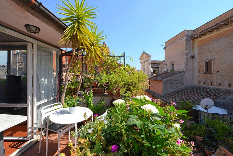Scala luxury terrace studio - Image 1 - Rome - rentals