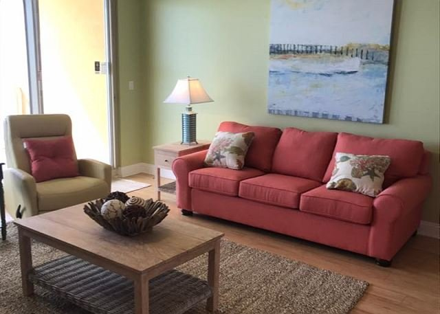 Living Room - Treasure Island * PANAMA CITY BEACH *SPRING SAVINGS  On Open Dates - Panama City - rentals