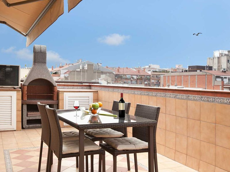-Sagrada Familia Penthouse + private terrace! - Image 1 - Barcelona - rentals