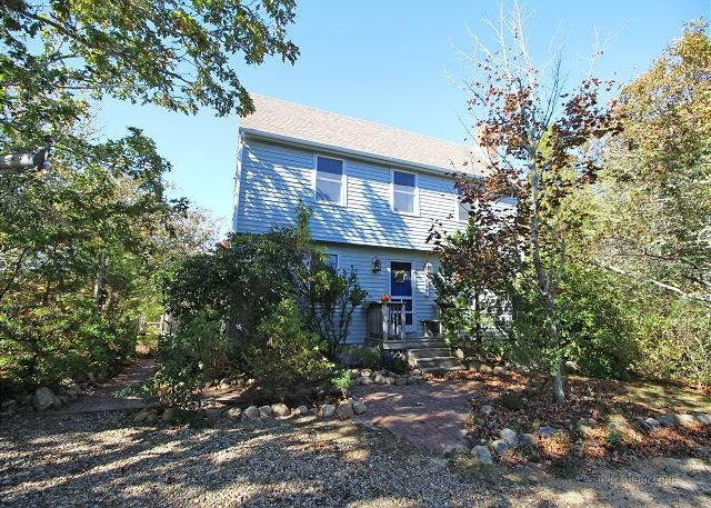 LOVELY MAIN AND GUEST HOUSE WITH A GREAT PATIO FOR FAMILY GATHERINGS - Image 1 - Edgartown - rentals