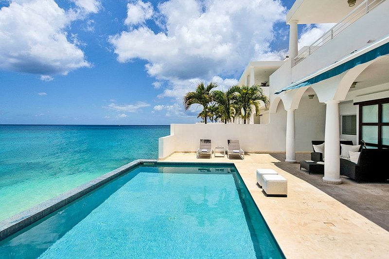 FARNIENTE...4BR Water Front Villa, Elegant, Luxurious, Totally Secure, private - Image 1 - Cupecoy - rentals