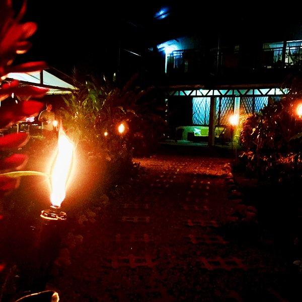 Casa Bella by night - Casa Bella Beach house, Puerto Jimenez, Osa, Costa Rica - Puerto Jimenez - rentals
