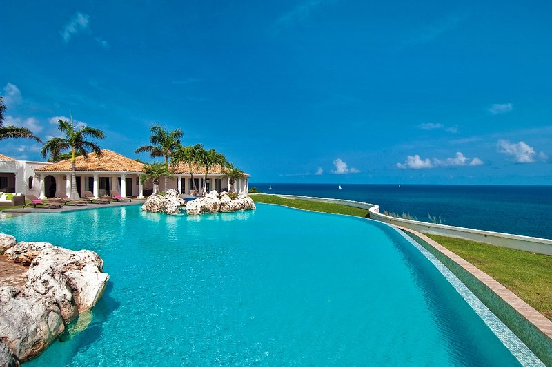 Luxury 5 bedroom St. Martin villa. Beautiful scenic pool - Image 1 - Terres Basses - rentals