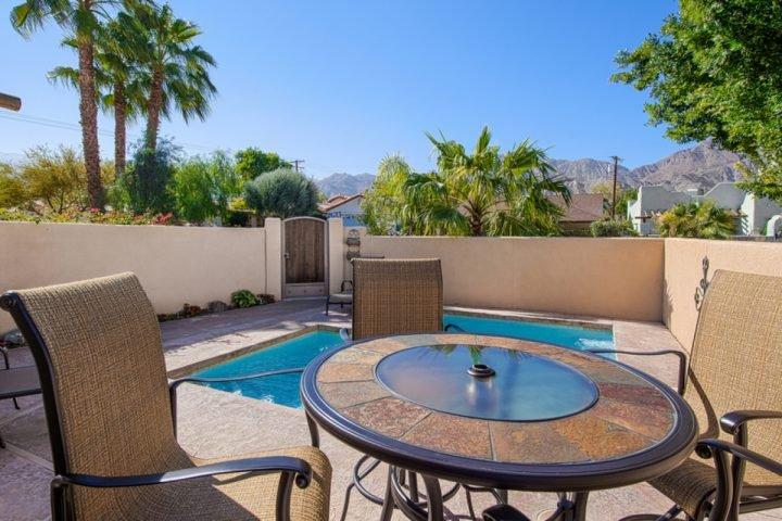 Front Courtyard Pool - La Quinta Cove Hacienda - La Quinta - rentals