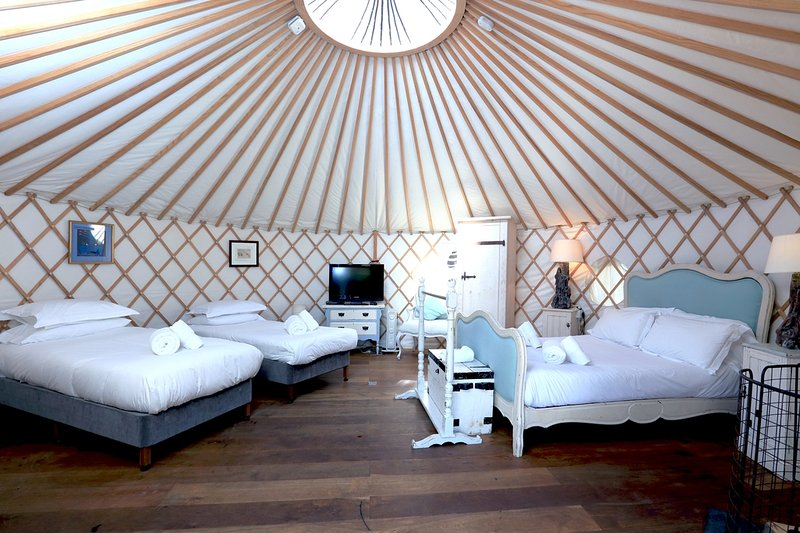 Penryn, Yurt, The Park  located in Newquay, Cornwall - Image 1 - Newquay - rentals