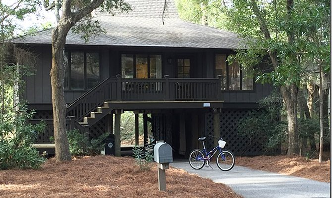 Cottage on a quiet court - Riverviews, Renovated, Heated Pool, Water Parks - Kiawah Island - rentals
