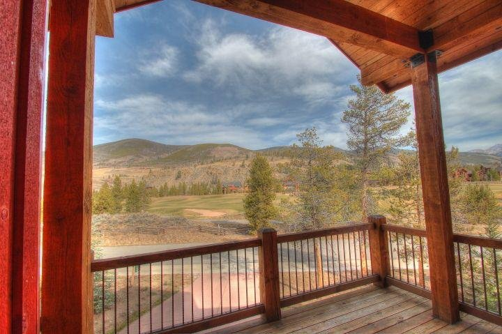 "SkyRun Property - ""170 Elk Circle"" - Dinning Deck - 170 Elk Circle - Keystone - rentals"
