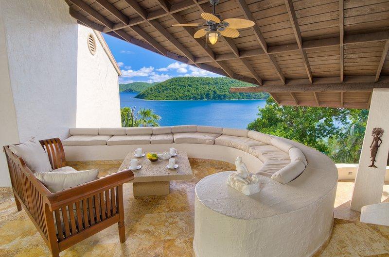 Ocean Front Mediterranean Villa with Private Dock - Image 1 - West End - rentals