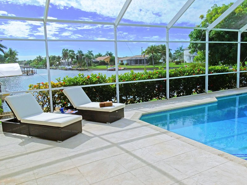 Southern exposure Villa with Bay view!!! - Image 1 - Cape Coral - rentals