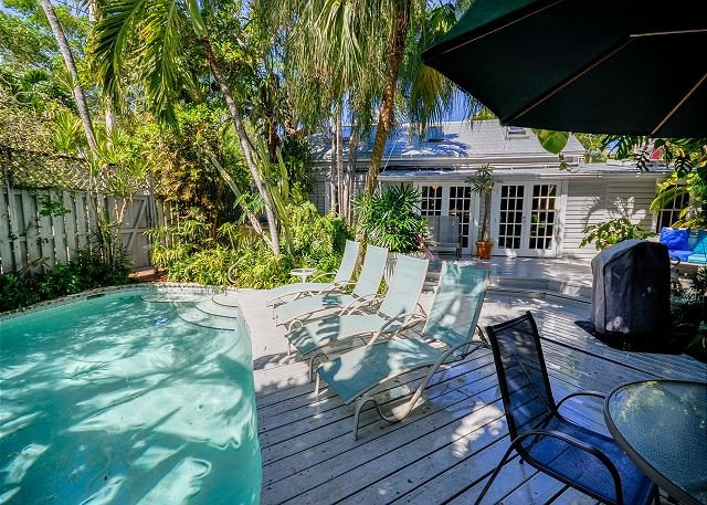 Pool - Havana Lane: A classic conch cottage with rustic charm - Key West - rentals