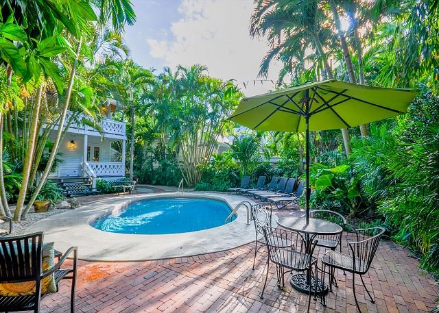 Southard Street Queen Conch - A Historic compound with large sunny pool - Image 1 - Key West - rentals