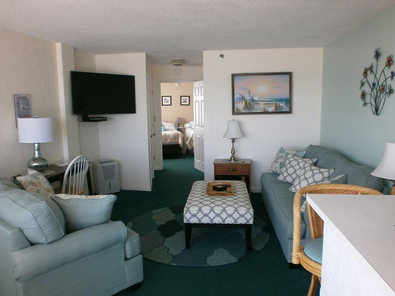 Affordable 1 Bedroom Direct Oceanfront Condo - Image 1 - Daytona Beach - rentals