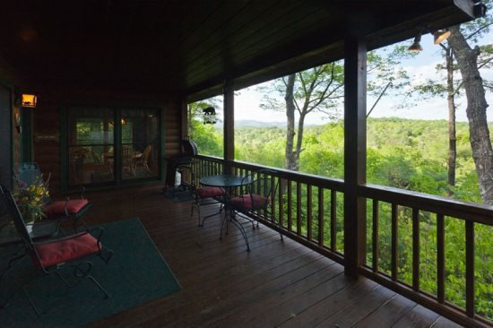 Spectacular mountain views from the deck - Dog Friendly Rental in North Georgia with an Awesome View - Ellijay - rentals