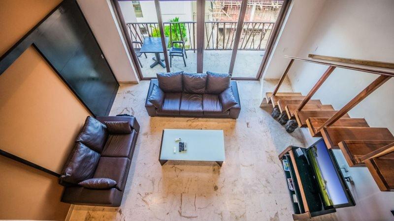 Very Unique 2 Bedroom Plus Loft with Ocean View -El Marine - Image 1 - Riviera Maya - rentals