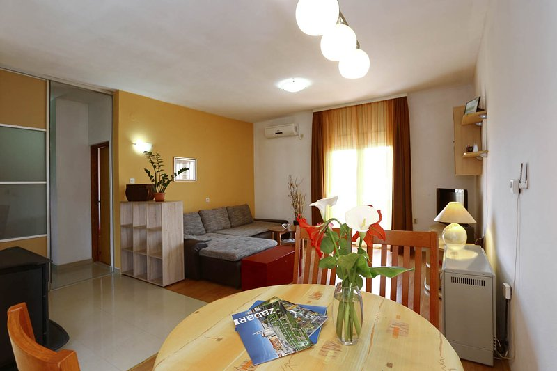 Living room - Spacious apartment with large terrace - Zadar - rentals