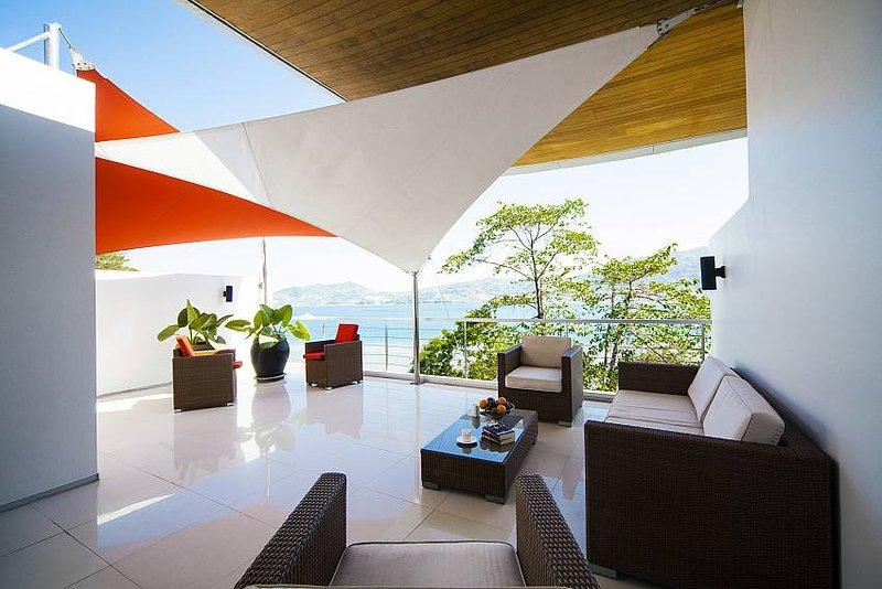 Scenic Patong villa with sea views - Image 1 - Patong Beach - rentals