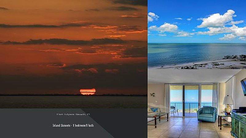 Island Sunsets II-11th floor - NEW*Island Sunsets I & I I- Gulf Fronts- WiFi&ROKU - Fort Myers Beach - rentals
