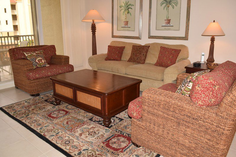 Living Room - The Regatta 5-402 - Naples - rentals