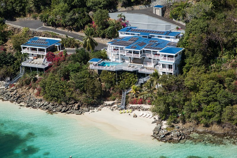 Only property with 2 private beaches - 15%-20% off rent from owner: Sand Dollar Estate - Saint Thomas - rentals