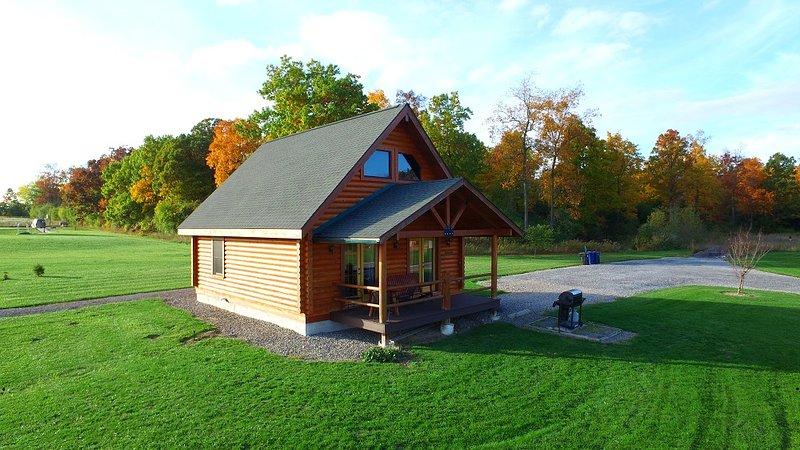 Honeoye Cabin at Geneva NY - Honeoye Deluxe Cabin by Seneca Lake at Cobtree - Geneva - rentals