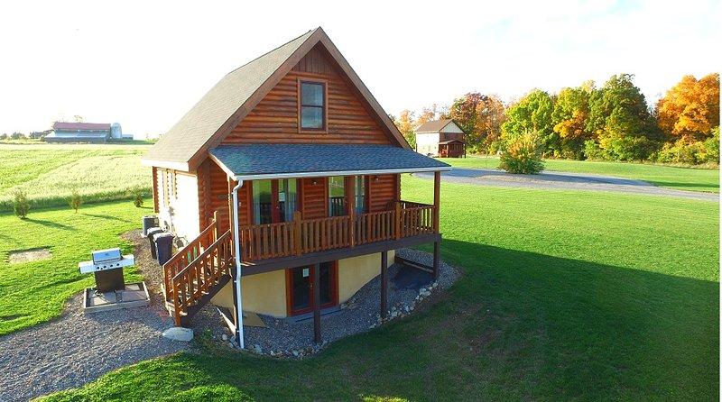 Otisco Deluxe Cabin by Seneca Lake at Cobtree - Image 1 - Geneva - rentals