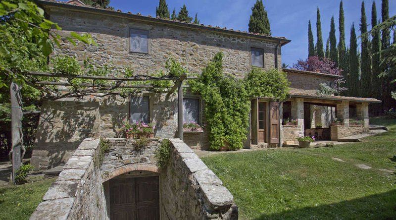 Farmhouse in the Chianti Region for Friends or a Large Family - Casa Elsa - Image 1 - Radda in Chianti - rentals