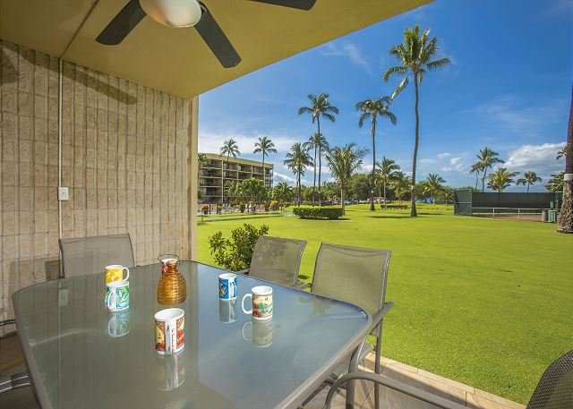 Maui Sunset A122 Oceanfront Ocean View 3 Bedroom 3 Full Bathrooms Sleeps 6 - Image 1 - Kihei - rentals