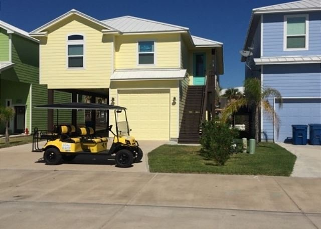 Free Golf Cart - Serendipity: New Home, Private Pool, Close to Beach, FREE 6 SEAT GOLF CART - Port Aransas - rentals