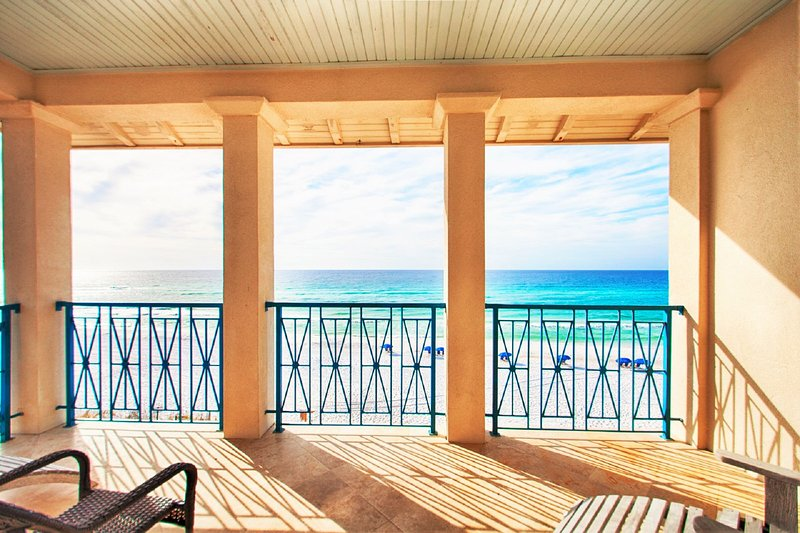 Beautiful Stunning Beach Views From Frangista Pearl - Frangista Pearl In March: BEACH FRONT w/ Elevator, Private Beach, Pool - Miramar Beach - rentals