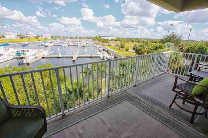 Marina & Canal View From Master Suite - 425 Little Harbor - Ruskin - rentals