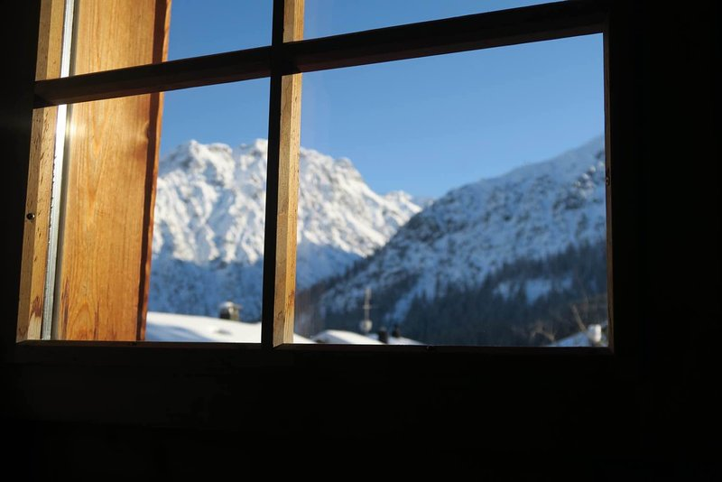 View from Garden Flat - Year round Garden Flat in Arosa Chalet - Arosa - rentals