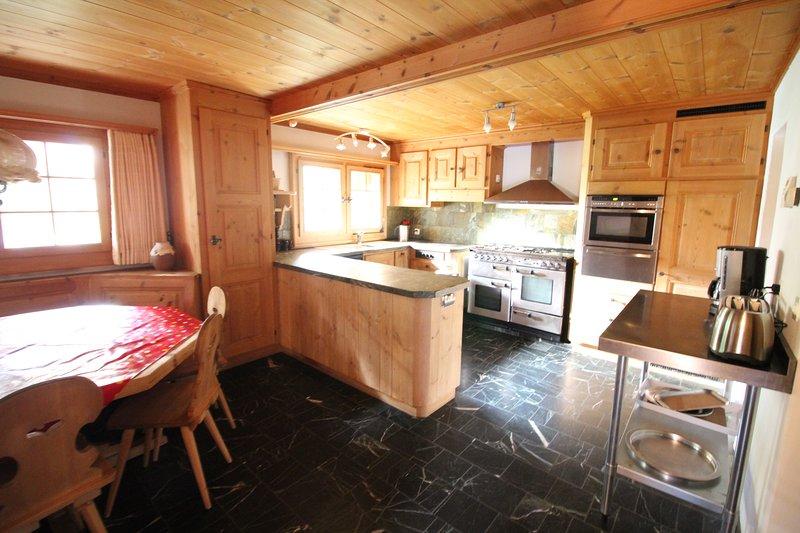 kitchen - Alpine Chalet for Family Holidays - Arosa - rentals