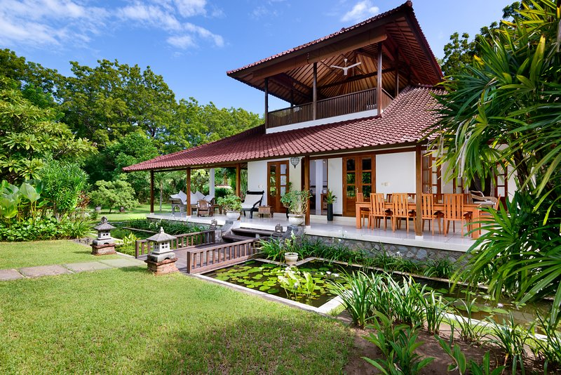 Front view of the villa - Exclusive, Luxury Private 3 bedroom Villa with Pool on Bali - Pemuteran - rentals