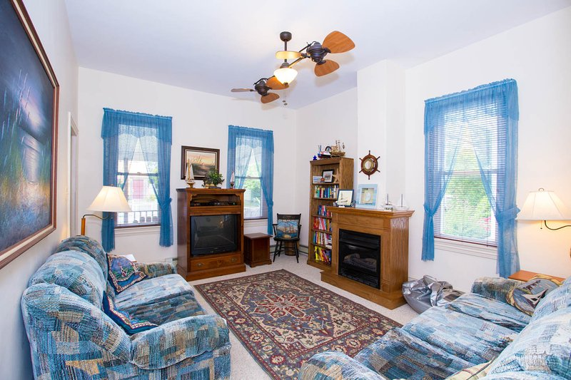 Living room - 6 bedroom single family home in historic Cape May - Cape May - rentals