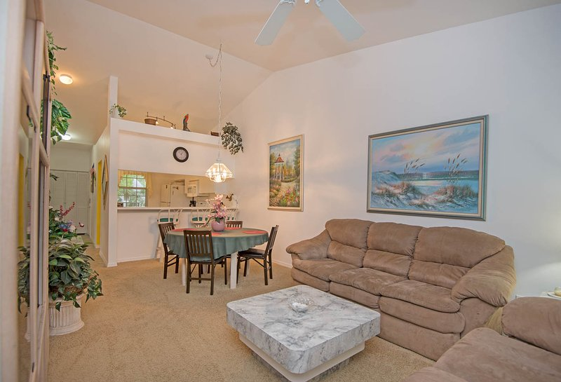 Living Room - 3bd Condo (Lely Golf) minutes to beach & downtown - Naples - rentals