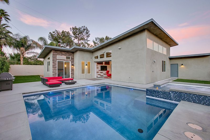 Midcentury modern style vacation rental in Palm Springs - 'Mesquite' Midcentury Inspired, Modern, Private Pool & Spa, Mountain Views - Palm Springs - rentals