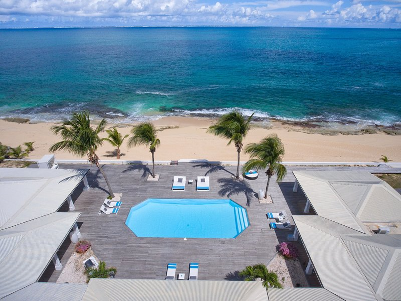 INTERLUDE... Spacious, Elegant, BEACHFRONT St Martin rental villa - Image 1 - Baie Rouge - rentals