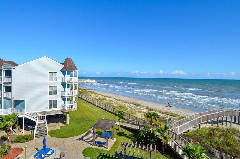 Exterior - Beach - A Sunny Seahorse - Galveston - rentals