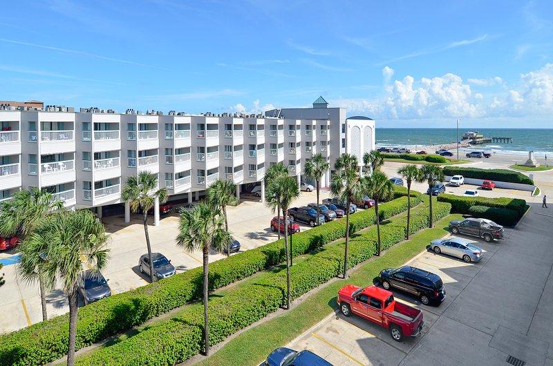 Exterior - View From Back - Casa Del Mar 379-Neptune's Retreat - Galveston - rentals