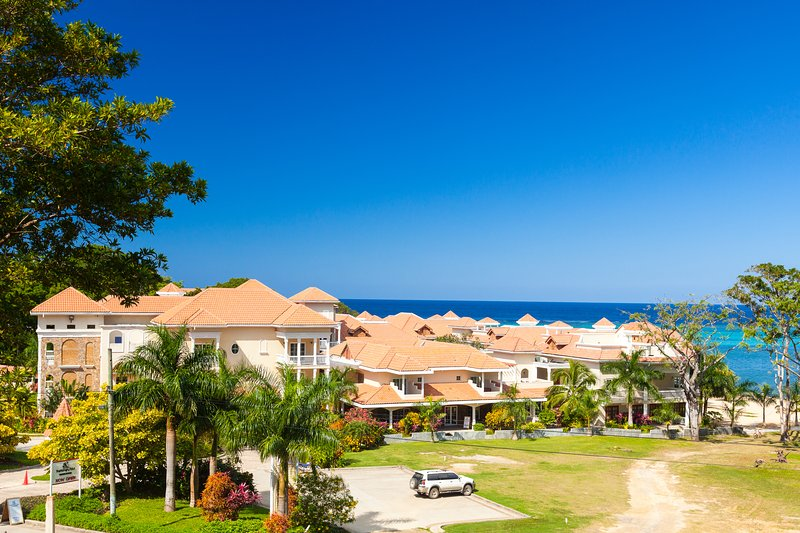 The Lawson Rock condos and Caribbean Sea - Casa Azul Apartment - Sandy Bay - rentals