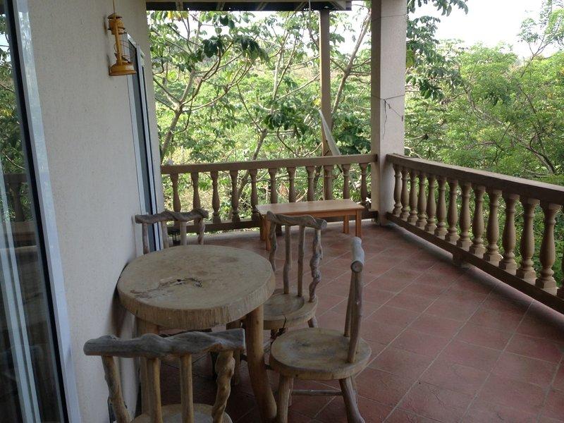 Enjoy the oversized porch - Sunset Villas 12C - Roatan - rentals