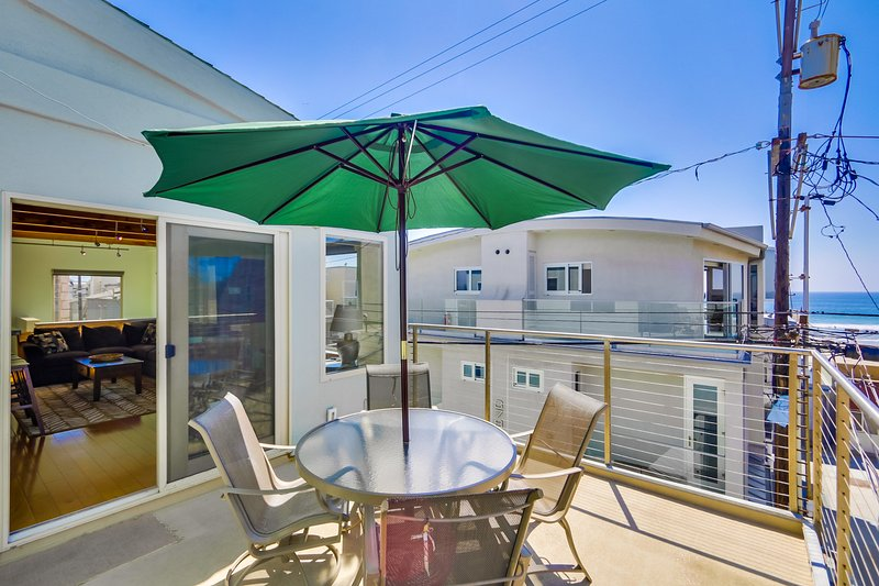 Outdoor Patio with Oceanview - ROCKAWAY714 - San Diego - rentals