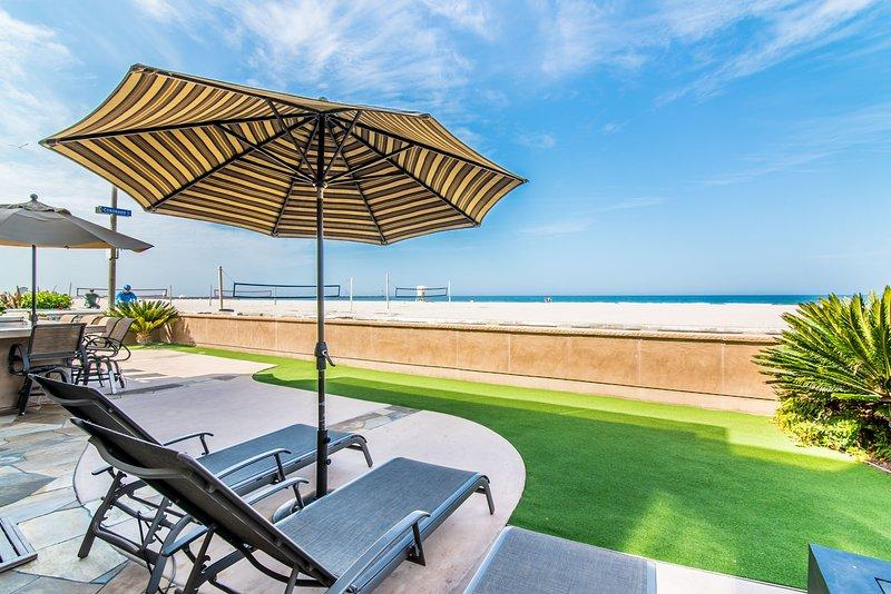 Oceanfront patio - CORONADO - Mission Beach - rentals
